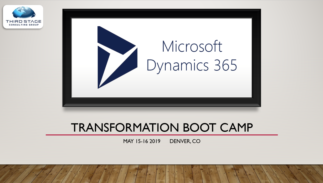 Microsoft Dynamics 365 boot camp1